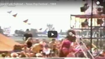 Bo and Jim - Grand Funk Railroad in Lewisville at the Texas Pop Festival!