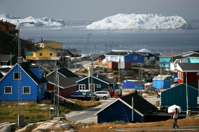 Retreating Ice Fields Impact Native Greenlanders