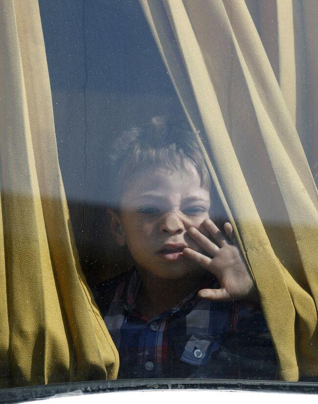 PALESTINIAN-ISRAEL-CONFLICT-GAZA-EGYPT-CROSSING