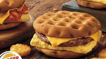 Suzette - Burger King Added Three New Maple Waffle Sandwiches To It's Breakfast Menu