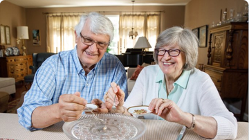 BC - This Couple Has Been Eating Their Wedding Cake For Nearly 50 Years