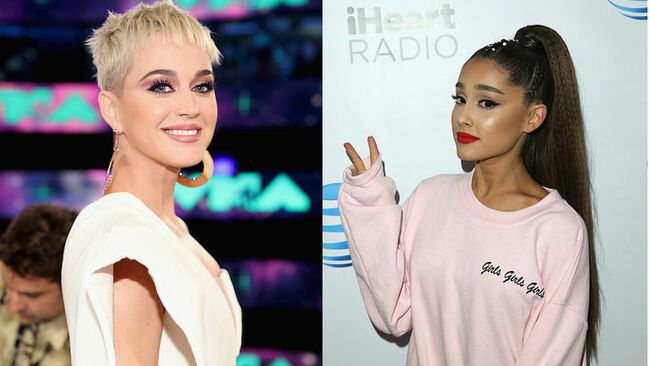 Ariana Grande Paid For Katy Perry's Meal After Running Into Her At Dinner