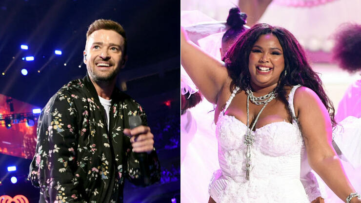 Justin Timberlake Teases Collaboration With Lizzo: See Them In The Studio | iHeartRadio