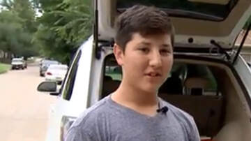 National News - 12-Year-Old Boy Smashes Car Windshield To Rescue Toddler Locked Inside