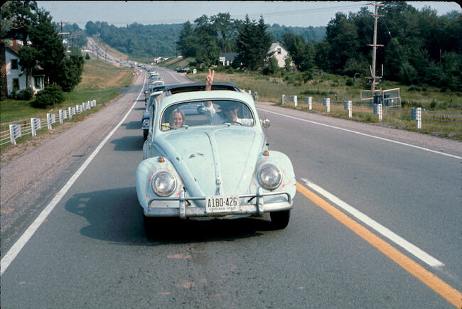 Peace On The Road To Woodstock