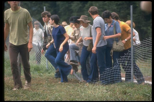Arriving At Woodstock