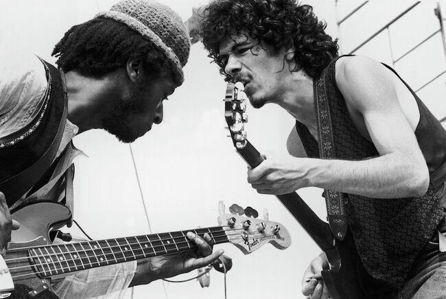 Dueling Guitars-Carlos Santana