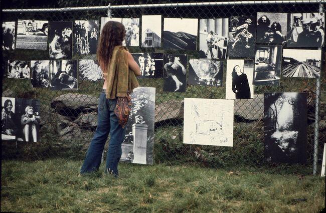 Ralph Ackerman's Photo Show At Woodstock