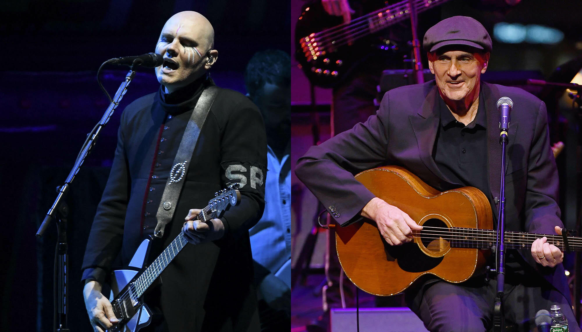 "Watch Smashing Pumpkins' Explosive Take On James Taylor's ""Fire And Rain"""