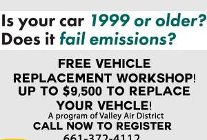 None - Valley CAN: FREE Vehicle Replacement Workshop!