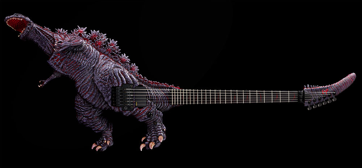 Blue Oyster Cult Would Be Proud Of ESP's New Godzilla Guitar | iHeartRadio