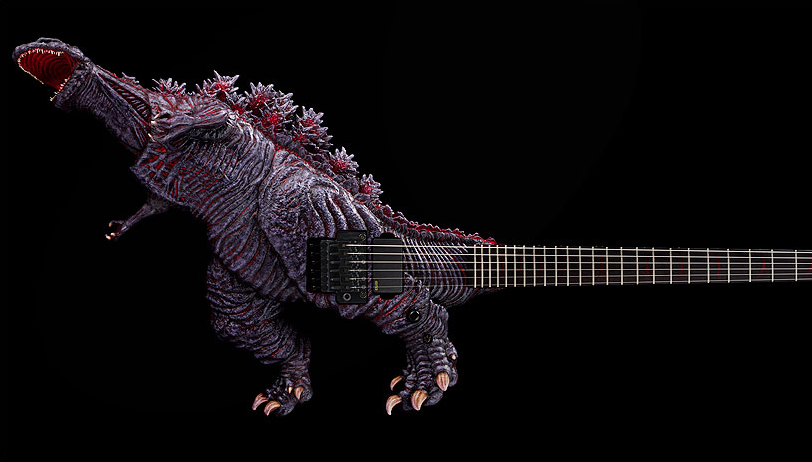 Blue Oyster Cult Would Be Proud Of ESP's New Godzilla Guitar