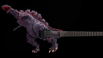 Ken Dashow - Blue Oyster Cult Would Be Proud Of ESP's New Godzilla Guitar