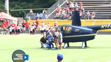 Paul Fletcher - Mom Battling Cancer Makes Surprises Son At His Football Game