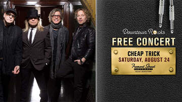 Buzzing Vegas - Cheap Trick on the 3rd Street stage at Fremont Street Experience