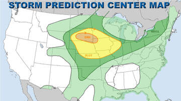 WHO Radio News - Storms with hail, wind, tornadoes possible Saturday IOWA STORM MAPS