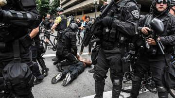 None -  Portland demonstrations declared civil disturbance, dozens arrested