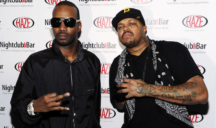 Three-6 Mafia Performs At Haze Nightclub For Official Show & Glow Party