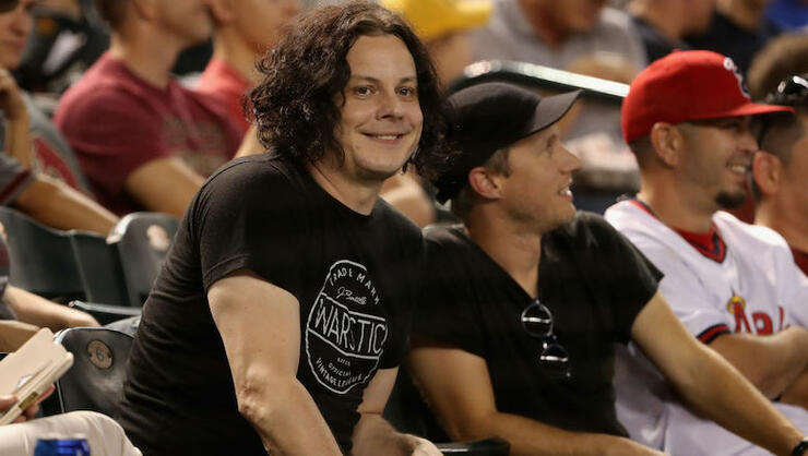 Jack White Went To A Baseball Game, Left To Play A Show, Then Came Back | iHeartRadio