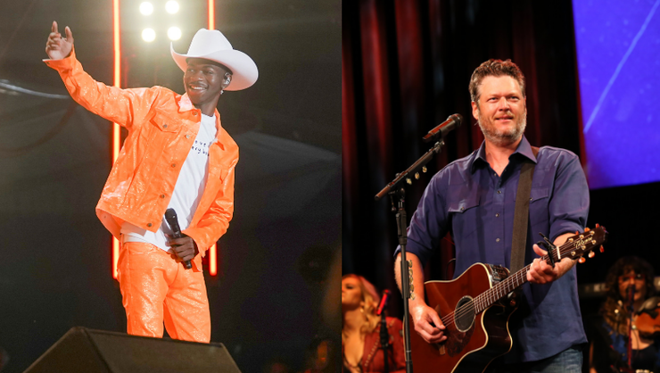 Blake Shelton Denies Shading Lil Nas X in New Song 'Hell Right' | iHeartRadio
