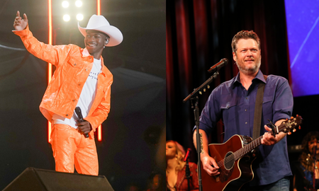 iHeartCountry - Blake Shelton Denies Shading Lil Nas X in New Song 'Hell Right'
