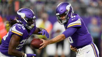 Vikings - Dalvin Cook sits again as Mattison and Boone run wild vs Seahawks | KFAN