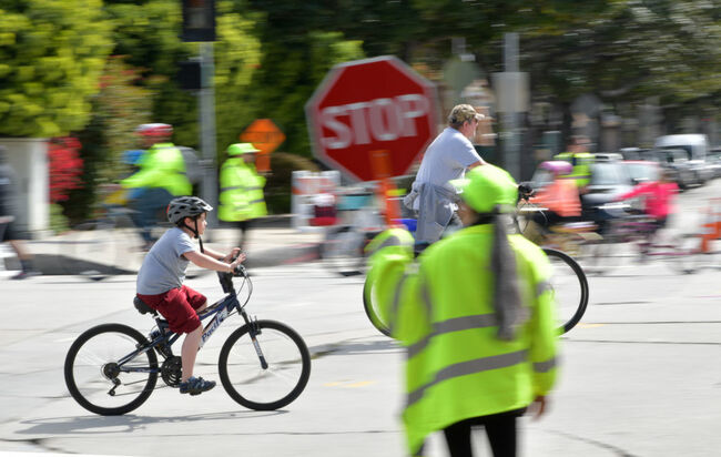 Car-Free CicLAvia Hosts First West Hollywood Event