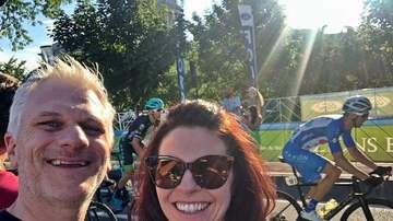 Frankie and Jess - Thank you AFCU for having us as guests at Tour of Utah!! -Frankie