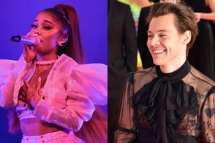 Harry Styles Couldn't Stop Shaking His Butt At Ariana Grande's Concert