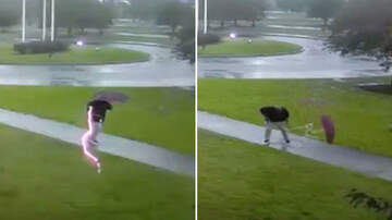 The Jim Colbert Show - HOLY CRAP!!!! Video Captures Moment Man Is Struck By Lightning!