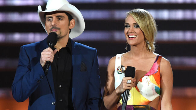 A History Of Hosting: Carrie Underwood and Brad Paisley