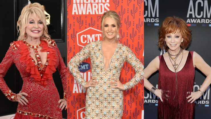 Carrie Underwood To Host CMA Awards With Dolly Parton And Reba McEntire