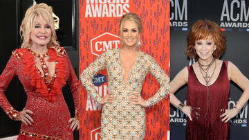 iHeartCountry - Carrie Underwood To Host CMA Awards With Dolly Parton And Reba McEntire