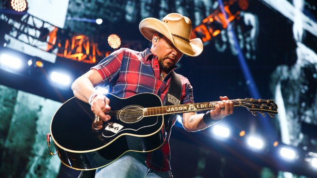 Jason Aldean Returns To Las Vegas For Three-Night Concert Series