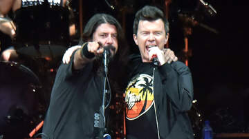 iHeartRadio Music News - Watch Dave Grohl Surprise London Club With Rick Astley Duet
