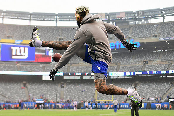 Eric Dickerson Challenges Odell Beckham: 'Do It Without the Sticky Gloves'