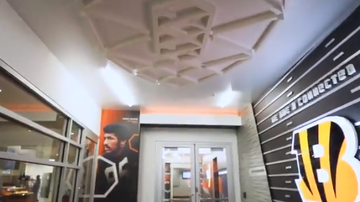 Lance McAlister - Bengals: Very cool redesign of the player entrance at PBS. Watch: