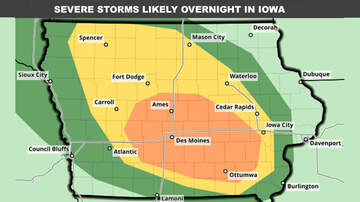WOC-AM Local News Blog - Severe storms targeting Iowa overnight - STORM MAPS