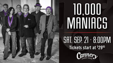 Buzzing Vegas - 10,000 Maniacs at Cannery Hotel & Casino