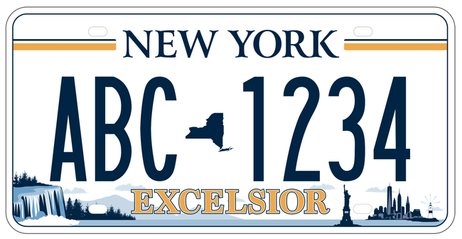 NYS License Plate Design 5