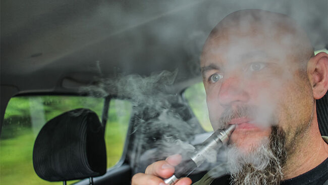 Vaping Can Result In Car Crashes