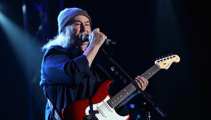 David Crosby Was Not Sad To See Woodstock 50 Die | iHeartRadio