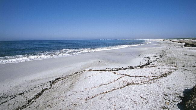 Is Arutas beach, Sinis Peninsula, Sardinia