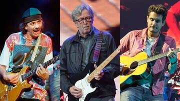 Q104.3's QN'A Blog - Eric Clapton Teams With Carlos Santana, John Mayer For Crossroads Benefit