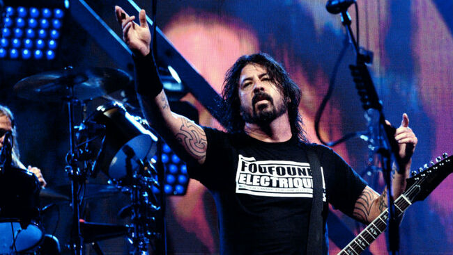 Foo Fighters Invite Five-Year-Old Boy To Dance Onstage During Ireland Show