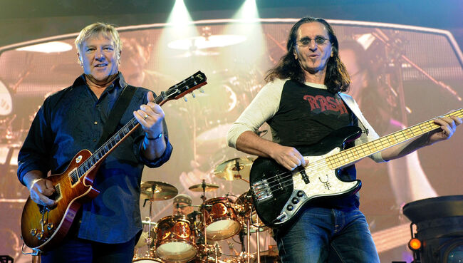 Rush Time Machine Tour At The MGM Grand Garden Arena