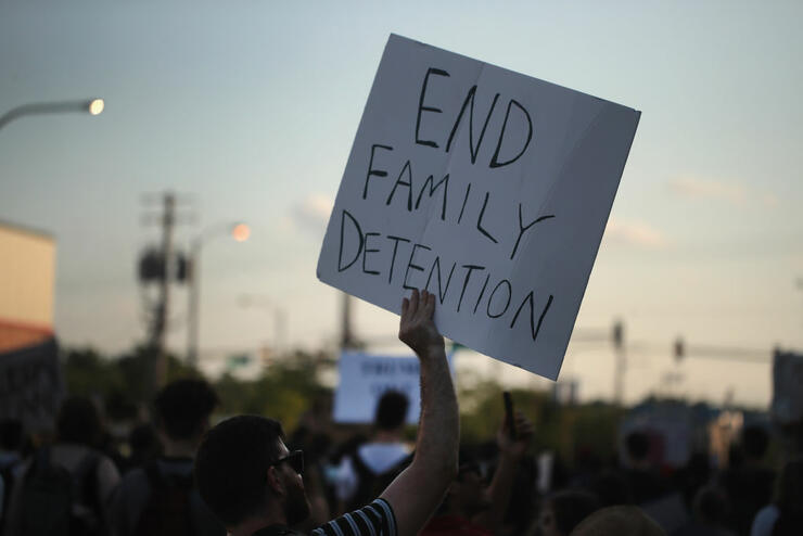 Protestors In Chicago Rally Against Mass Detention Of Undocumented Immigrants