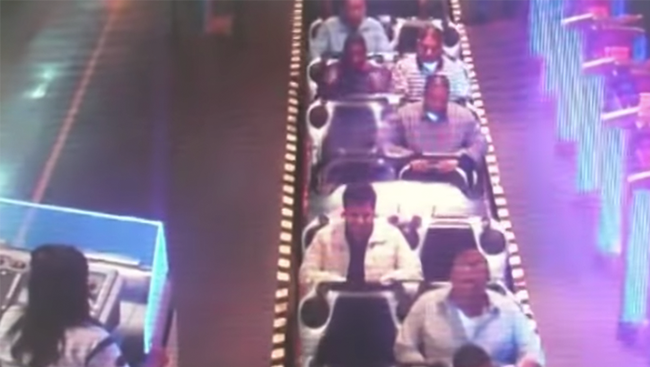 Ghosts Caught On Video At Disneyland