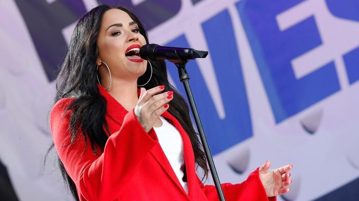 Demi Lovato To Make Return To Acting In Netflix's 'Eurovision' | iHeartRadio