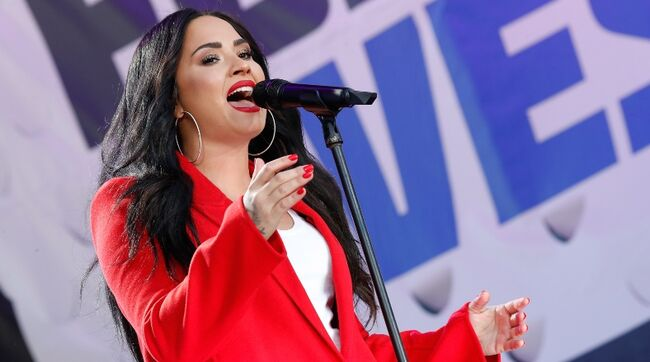 Demi Lovato To Make Return To Acting In Netflix's 'Eurovision'